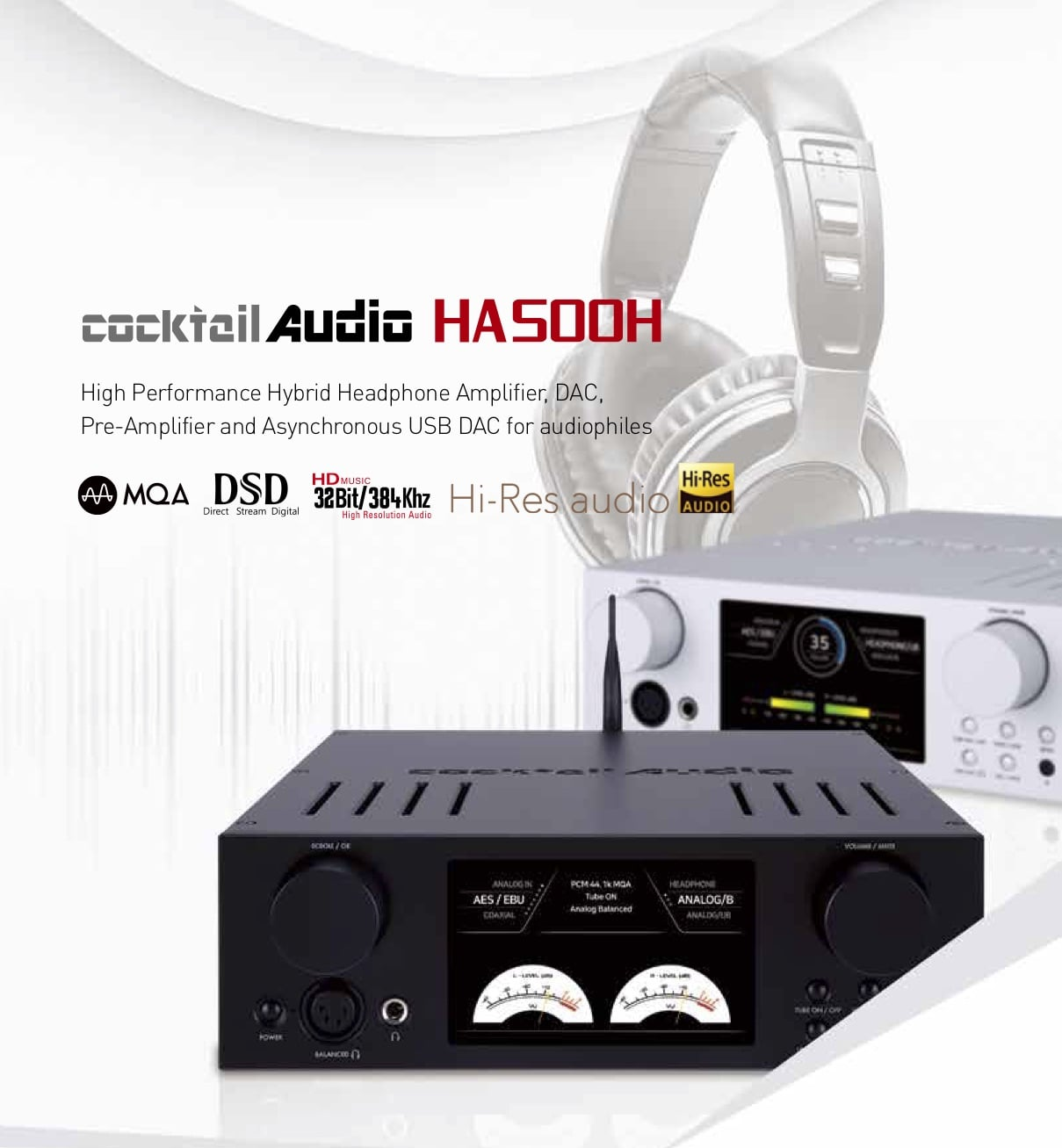 Cocktail Audio HA500H