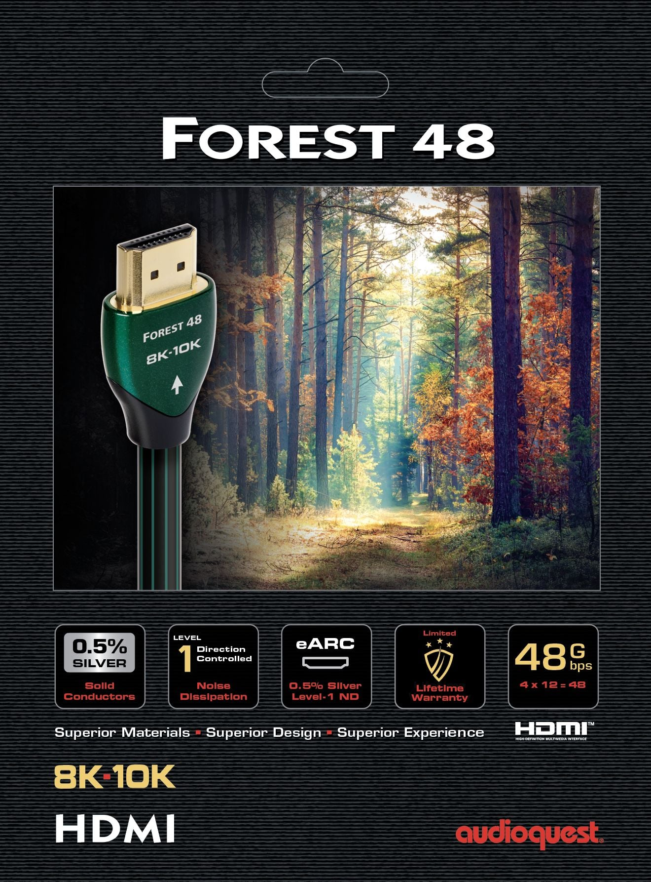 Audioquest Forest 48 HDMI kábel