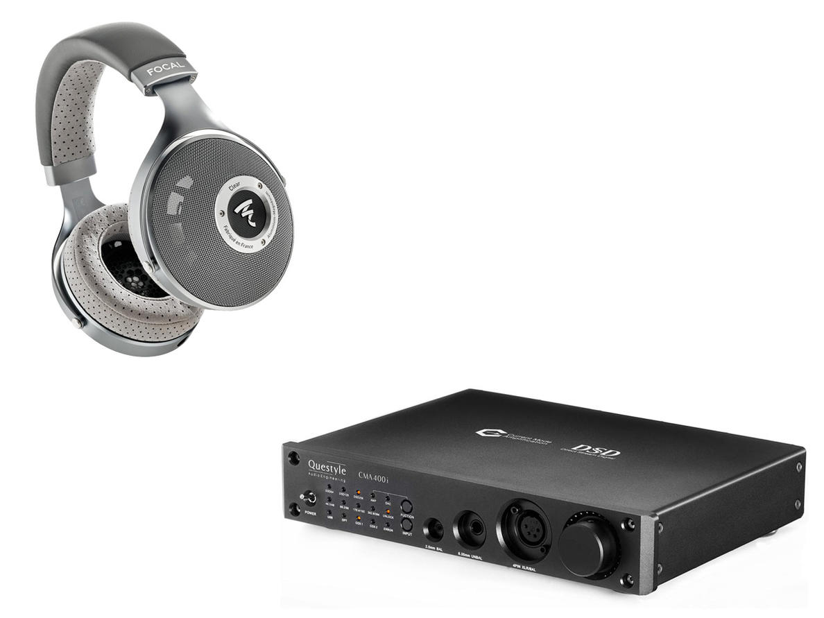 Focal Clear + Questyle CMA400i