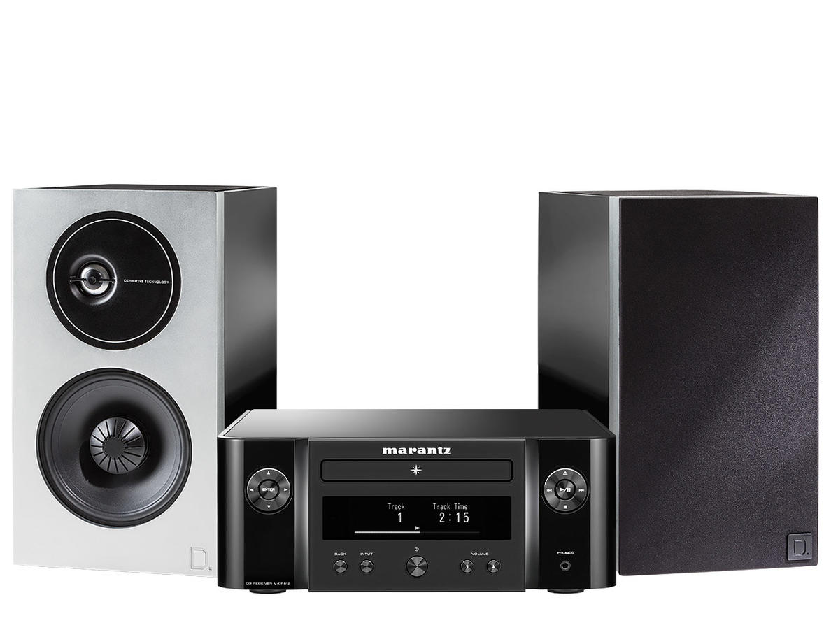 Marantz Melody X (MCR612) + Definitive Technology Demand 9